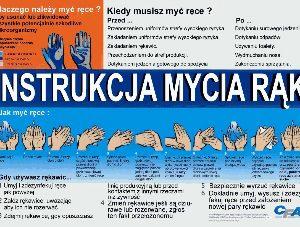 CFA handwash posters (Polish)